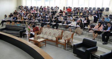 ประชุมคณาจารย์คณะวิทยาศาสตร์และเทคโนโลยี ครั้งที่ 3/2562